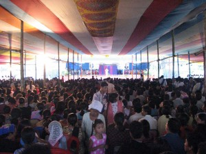 Crowd in North India